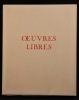 Oeuvres libres.. VERLAINE Paul:
