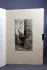 Fribourg, Ville d'Art. Eaux-fortes et dessins de P. -A. Bouroux. Texte de J. -J. Berthier.. BERTHIER Joachim-Joseph & BOUROUX Paul-Adrien: