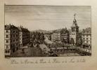 Atlas pittoresque de Genève, ou collection des vues les plus intéressantes de cette ville, avec des notices historiques sur son état ancien et ...