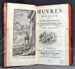 Oeuvres mêlées de littérature de M. de Lafargue. Des Académies Royales des Sciences, Belle-Lettres & Arts de Caen & de Lyon.. LA FARGUE Etienne de: