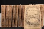 Oeuvres complètes de Buffon avec les suppléments, augmentées de la classification de G. Cuvier [suivi de] Oeuvres du comte de Lacépède contenant ...
