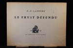 Le fruit défendu.. LANDRY Charles-François: