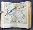 Atlas nouveau du voyageur pour l'Empire d'Allemagne. Avec la description géographique et une table, pour trouver facilement les Villes, &c.. SANSON ...