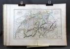 Atlas géographique, historique, statistique, et itinéraire de la Suisse divisée en vingt-deux cantons, et de la vallée de Chamouny, avec une carte ...