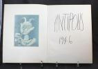 Verve Vol. V, n° 19 et 20. Couleurs de Picasso.. PICASSO Pablo; SABARTES; TERIADE (dir.):