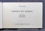 Carnet du Maroc.. BRAYER Yves; GIONO Jean (prés.):