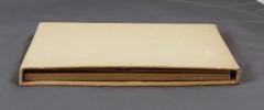 Fac-similé des premières pages de l'édition originale de La fille Elisa de Edmond de Goncourt ornées d'aquarelles & croquis de H. de ...
