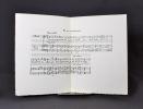 Ensemble de documents, dont une partition, manuscrits, autographes, relatifs à Vincent d'Indy, ainsi qu'un porte cigarette lui ayant appartenu.. INDY ...