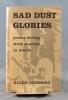 Sad dust glories. Poems during work summer in woods.. GINSBERG Allen: