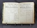 Arithmétique à Alphonse Bory, le 29 décembre 1854. Cours de toises par Amy Renaud.. BORY Alphonse: