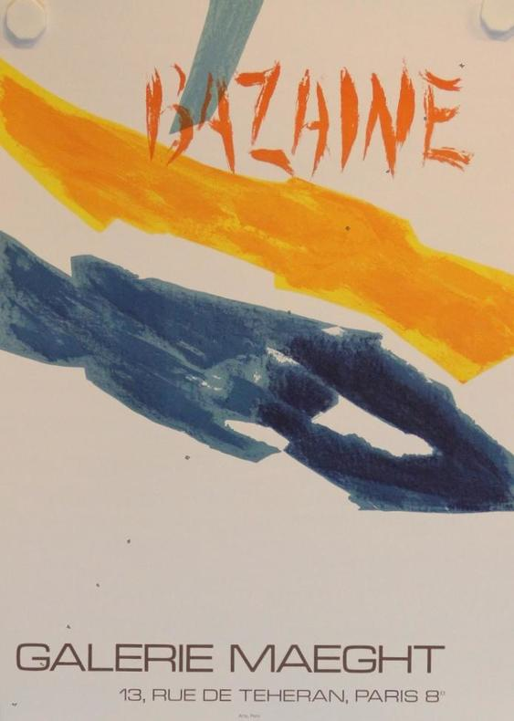 Galerie Maeght, Paris.. BAZAINE: