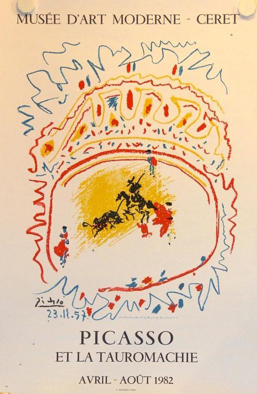 Picasso et la tauromachie. Musée d'Art Moderne, Ceret 1982.. PICASSO Pablo: