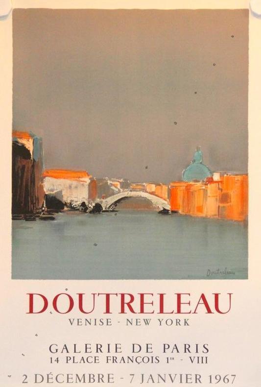 Venise - New York, galerie de Paris 1967.. DOUTRELEAU: