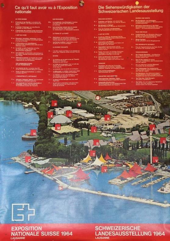 Ce qu'il faut avoir vu à l'exposition nationale. Exposition nationale suisse 1964, Lausanne..
