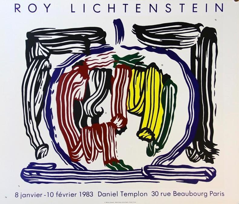 Daniel Templon, Paris 1983.. LICHTENSTEIN Roy: