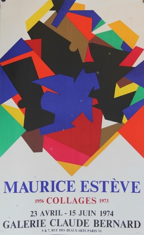 Collages 1956-1973. Galerie Claude Bernard, Paris 1974.. ESTEVE Maurice: