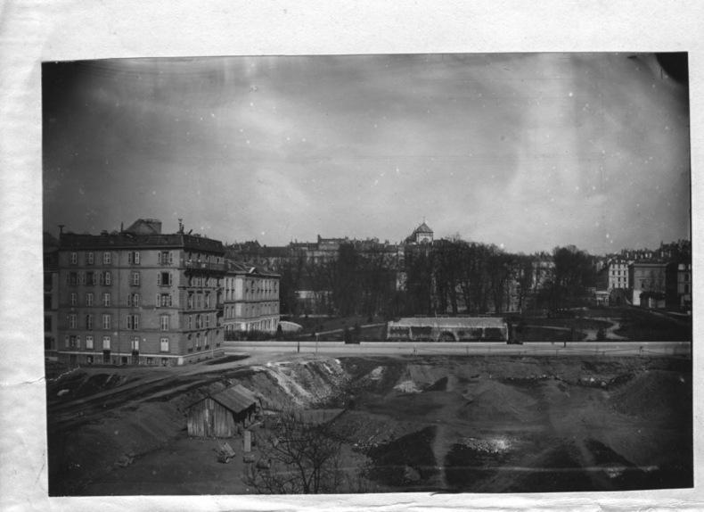 [Parc des Bastions, Université, rues de Candolle, Saint-Ours, et Saint-Léger].. [ANONYME]: