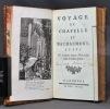 Voyage de Chapelle et Bachaumont suivi de quelques autres voyages dans le même genre.. CHAPELLE Claude-Emmanuel Luillier dit; BACHAUMONT [François Le ...