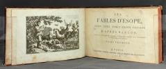 Les fables d'Esope, avec cent vingt-trois figures d'après Barlow. Collection de gravures piquantes et d'apologues ingénieux pour l'amusement et ...