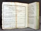 Elémens d'algèbre, avec des notes et des additions tirées en parties des leçons données à l'Ecole normale par Lagrange et Laplace, et précédée d'un ...