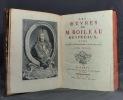 Les oeuvres de M. Boileau Despreaux, avec des éclaircissemens historiques.. BOILEAU-DESPREAUX Nicolas; LOSME DE MONTCHESNAY Jacques de: