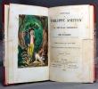 Histoire de Philippe Ashton ou le nouveau Robinson. Traduit de l'allemand sur la dernière édition.. SCHUBERT Henri de: