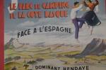 Sascoenea, le parc de camping de la côte basque. Affiche du Camping d'Hendaye
