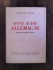 D'UNE AUTRE ALLEMAGNE. Journal Posthume 1938 1944.. Ulrich Von Hassell