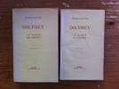 LE MONDE DE L'ESPRIT. EN 2 tomes.. Dilthey