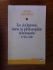 LE JUDAISME DANS LA PHILOSOPHIE ALLEMANDE 1770 1850. André Lerousseau