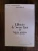 L'HISTOIRE DU DOCTEUR FAUST 1587. Traduction, Introduction. Notes et Glossaire.. Joël Lefebvre