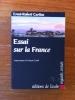 ESSAI SUR LA FRANCE. Ernst-Robert Curtius