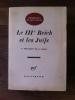 LE IIIe REICH ET LES JUIFS (avec un envoi de J. Wulf). Léon Poliakov & J. Wulf