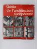 GENIE DE L'ARCHITECTURE EUROPEENNE.. Nikolaus Pevsner