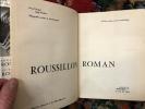 Roussillon roman. Marcel Durtiat