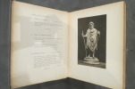 COLLECTION OF ALPHONSE KANN. Part 1 : Objects of Art : Egyptian - Greek - Roman Persian - Moyen Age and Renaissance Works of Art..