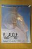 RENE LALIQUE VERRERIES - BIJOUX. Vente de Collection Drouot-Montaigne. . R. Lalique