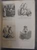 """(Tout les albums sont reliés en 1 Volume) 9 Albums de caricatures dessinés par Cham et un album de caricatures dessinés par Eugene Houx-Marc. """"La  ..."""