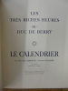 VERVE N° 7 VOLUME II. LES TRES RICHE HEURES DU DUC DE BERRY. . TERIADE E.