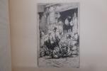 CATALOGUE de SON OEUVRE GRAVÉ précédé d'une étude de Gustave Geffroy. ESTAMPES. En 2 tomes.. Auguste Brouet