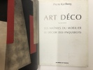Art Déco - les maîtres du mobilier - le décor des paquebots. Pierre Kjellberg