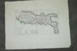 CARTE DE L'ITALIE proprement dite où l'objet principal a été de tracer LES VOYES ROMAINES. Pour l'intelligence de l'Histoire Romaine de Mr ROLLIN.. ...