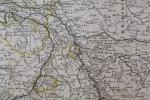 La partie occidentale de l'Allemagne avec les pays adjacents, le long du Rhein et des rivières qui s'y rendent.. Jean-Baptiste Nolin (1657-1708)