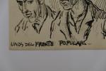Unos del Frente Popular ( Certains du front populaire ). Pablo Tillac