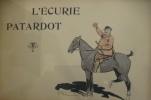 L'ECURIE PATARDOT. E. Thélem
