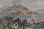 Puerto et cuidad de San Sébastian. Port et ville de saint Sébastien.. inconu