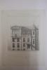 Moniteur des Architectes : Hôtel à Paris - Auteuil : Façade principale. Imprimerie Lemercier