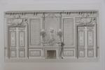 Moniteur des Architectes : Château de Chantegrillet (Loire) - Salon. . Imprimerie Lemercier