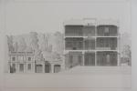 Moniteur des Architectes : Hôtel à Paris, Parc Monceau - M.Bouwens architecture.  . Imprimerie Lemercier