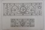 Moniteur des Architectes : Balcons en fonte de fer. Imprimerie Lemercier